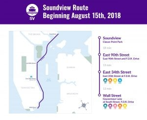 Soundview Route Map