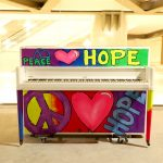 "Sing For Hope Piano ""Peace, Love, and Hope"" by Colette by Hardy"