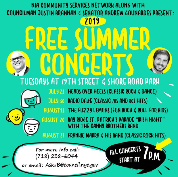 Bay Ridge Free Summer Concert Series