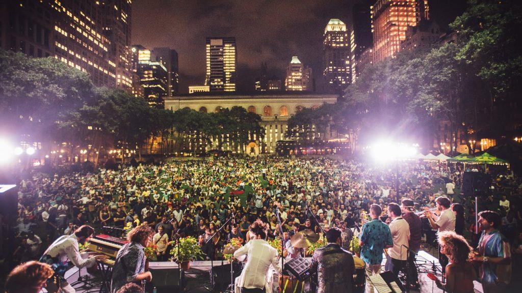 Emerging Music Festival at Bryant Park