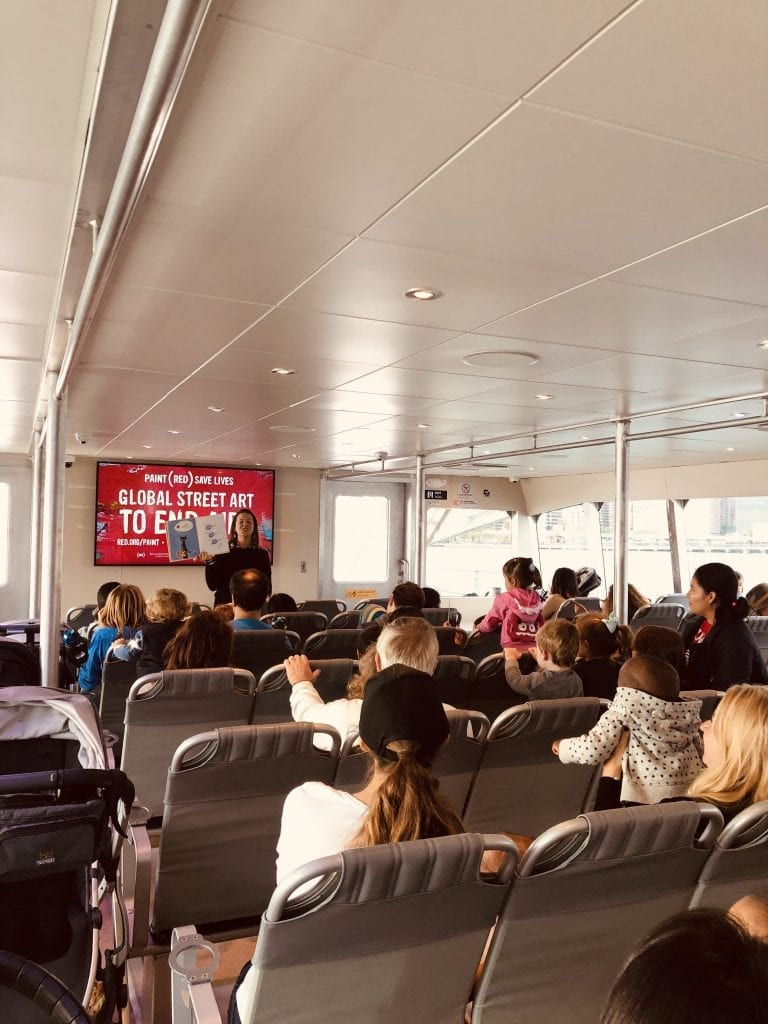 Storytime on NYC Ferry